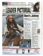 Cowichan Bay Leader Pictorial - Here's Johnny